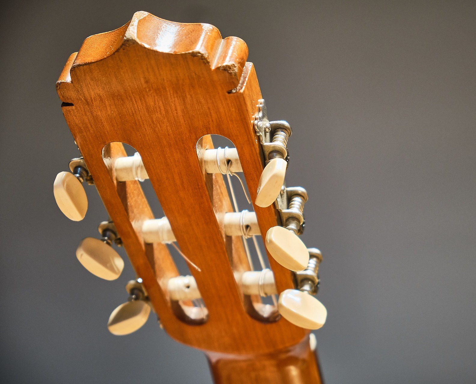tuning mechanism for a guitar